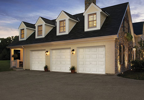 3 car garage door