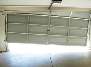 my garage door off track